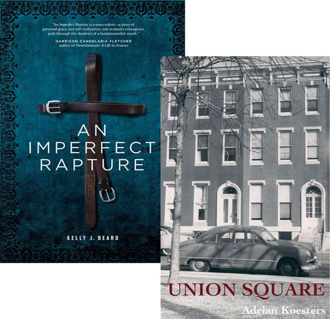 Books Imperfect Rapture and Union Station for interview with  Adrian Koesters